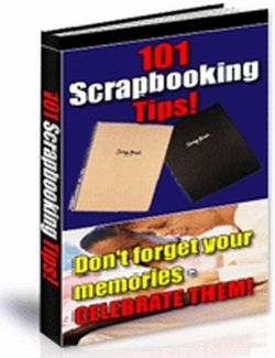 101 Scrapbooking Tips (PLR)