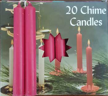 Pomegranate Chime candle 20pk