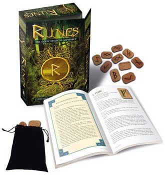 Runes: Gods Magical Alphabet (deck & book) by Bianca Luna