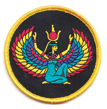 Isis sew-on patch 3""