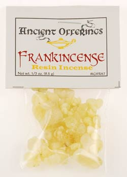 Frankincense Tears granular incense 1/3 oz