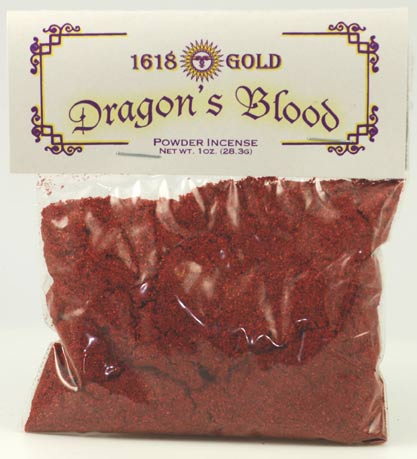 1 oz Dragons Blood powder incense