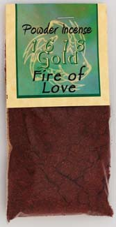 1 oz Fire of Love powder incense