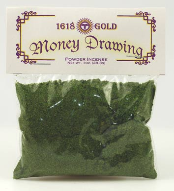 1 oz Money Drawing powder incense