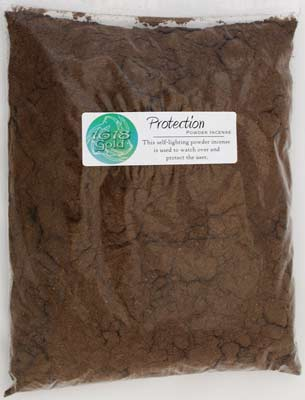 1 Lb Protection powder incense