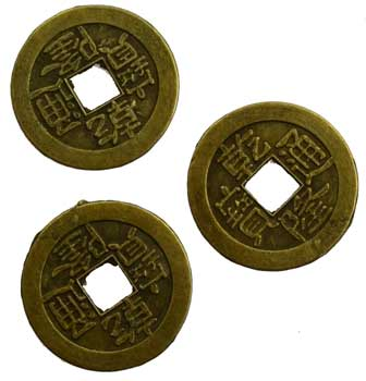 Bronze I Ching Coin
