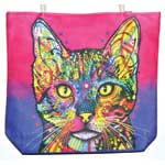"14"" x 16"" Cat jute tote bag"