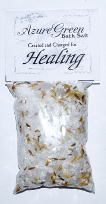5 oz Healing bath salts