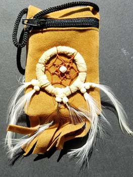 Brown bag dream catcher