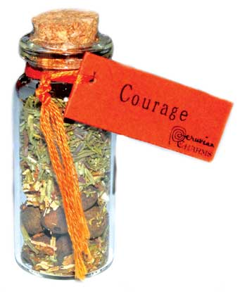 Courage Pocket Spell Bottle