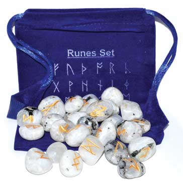 Rainbow Moonstone rune set